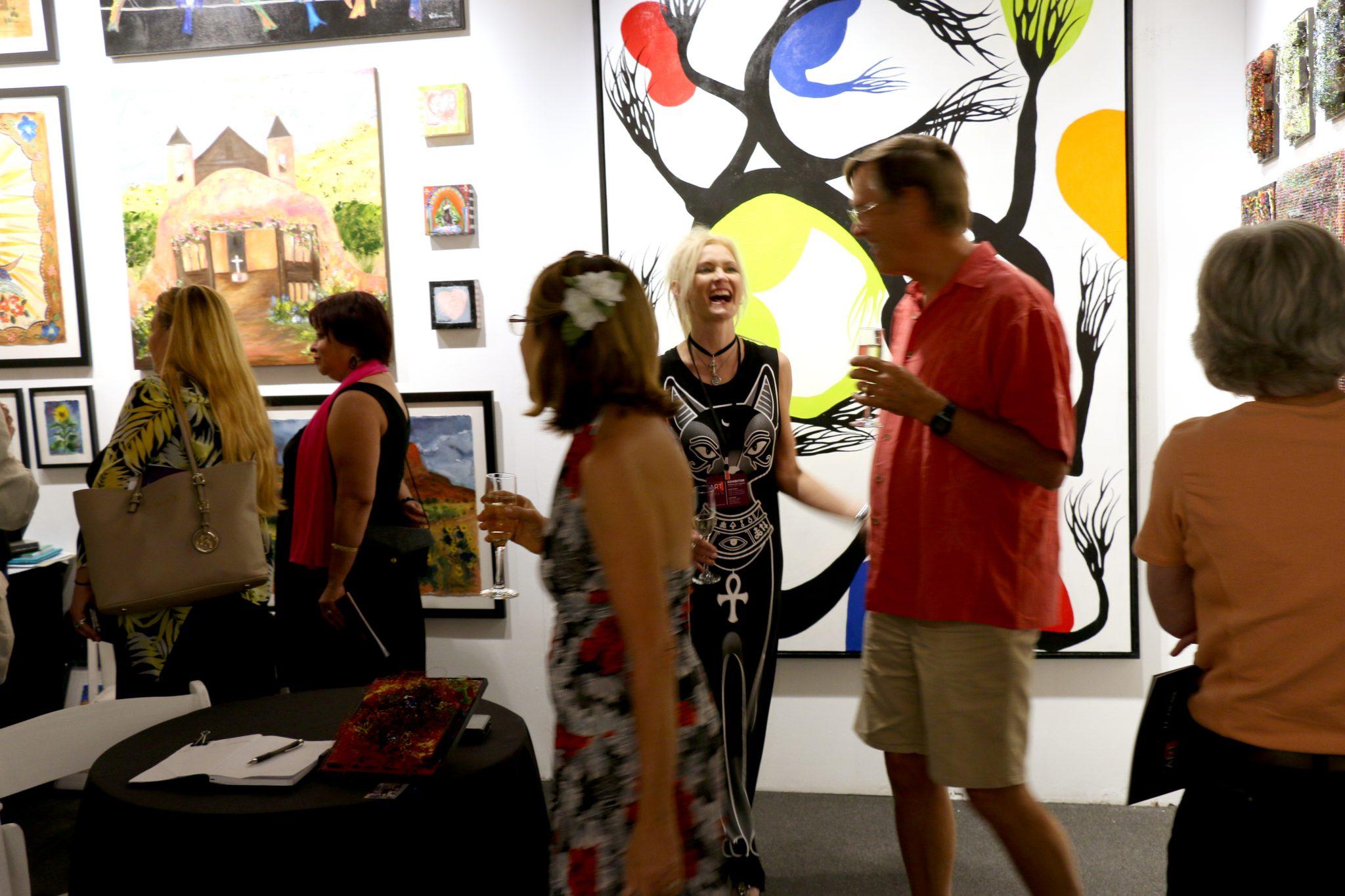 art santa fe 2016 opening night recap art santa fe