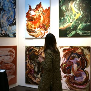 Vibrant works by Richard Veselik