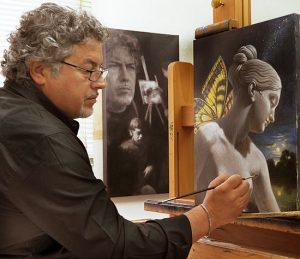 Artist Antonio Nunziante