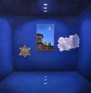 Antonio Nunziante | Getting Lost in the Blue of the Secret Room on a Moon Night