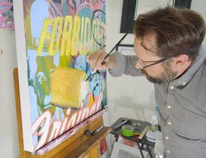 Artist Christopher Rabb