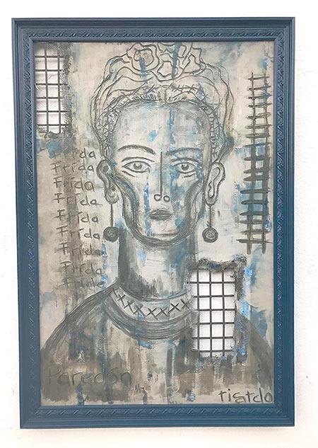 Ricardo Cárdenas-Eddy - La Pared de Frida | Contemporary Art Projects USA